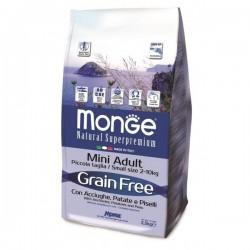 Grain Free Mini - Anchois, patates et petits pois - Adult all breeds