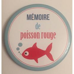 """Magnet """"Mémoire de poisson..."""""""