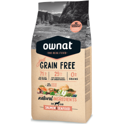 Ownat Just Grain Free - Salmon & Seafood