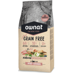 Ownat Just Grain Free - Adult Chicken cat