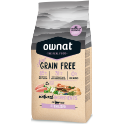 Ownat Just Grain Free - Sterilized cat