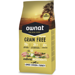 Ownat Grain Free Prime - Junior Chicken & Turkey