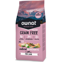 Ownat Grain Free Prime - Mini Lamb