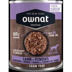 Ownat Wetline - Lamb & Potatoes 6x400gr