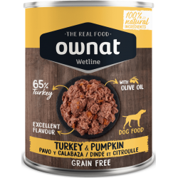 Ownat Wetline - Turkey & Pumpkin 6x400gr