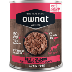 Ownat Wetline - Beef & Salmon 6x400gr