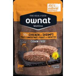 Ownat Wetline - Chicken & Schrimps 85gr