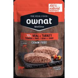 Ownat Wetline - Veal & Turkey 6 x 85gr