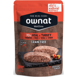Ownat Wetline - Veal & Turkey 85gr