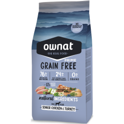 Ownat Grain Free Prime - Senior Chicken & Turkey