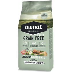 Ownat Grain Free Prime - Adult Chicken & Turkey
