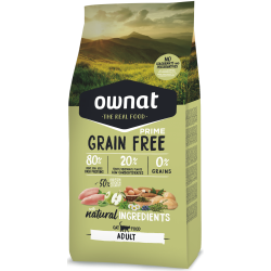 Ownat Grain Free Prime - Adult Cat