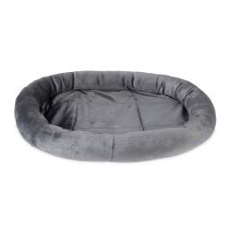 Freezack Lit pour chat et chien Oval gris 48x32cm