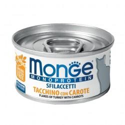 Monge monoprotein - Filets Dinde et carottes 6 x 80 Gr