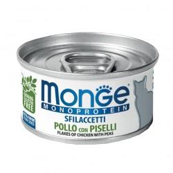 Monge monoprotein - Filets Poulet avec Petits Pois 6 x 80 Gr