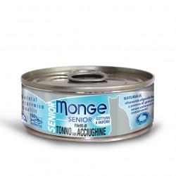 Monge jelly - Thon avec Anchois SENIOR 6 x 80 Gr