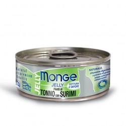 Monge jelly - Thon du Pacifique avec Surimi 6 x 80 Gr