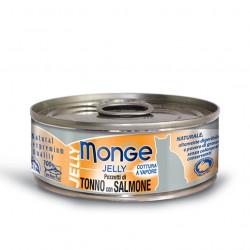 Monge jelly - Thon bonite au saumon précieux 6 x 80 Gr