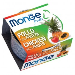 Monge Fruits - Poulet aux fruits 6 x 80 Gr