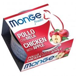 Monge Fruits - Poulet à la pomme 6 x 80 Gr