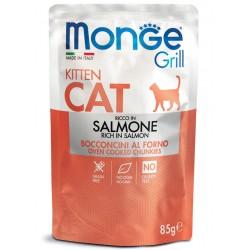 Monge Grill - Kitten Saumon 6 x 85 Gr