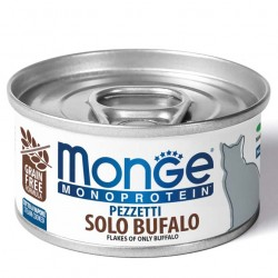 Monge monoprotein - Filets Buffle 6 x 80 Gr