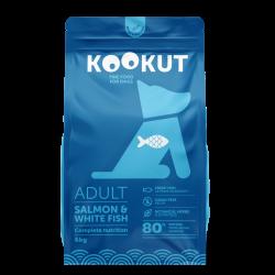 Kookut Adult chien - Saumon & Poisson blanc