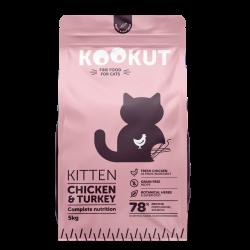 Kookut Kitten - Poulet & Dinde