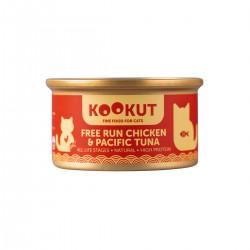 Kookut - Poulet élevé en liberté & thon du Pacifique - Naturel