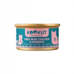 Kookut - Poulet élevé en liberté & crevettes - Naturel