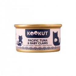 Kookut - Thon du Pacifique & Palourdes - Naturel