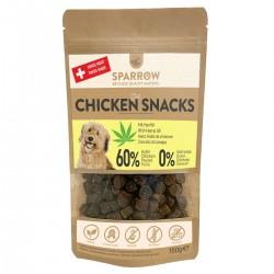 Sparrow Pet Snacks au poulet avec CBD pour chiens 150g