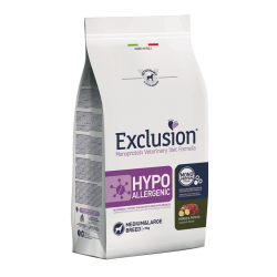 Exclusion Vet Hypoallergenic Adult Medium - Cheval & Pommes de terre