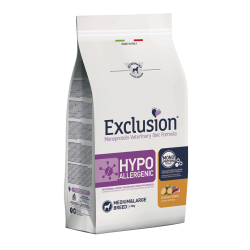 Exclusion Vet Hypoallergenic Adult Medium - Canard & Pommes de terre