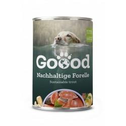Goood - Pâtée chien adulte à la truite durable (sans céréales) 400 g