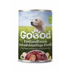 Goood - Pâtée chien junior à l'agneau fermier & truite durable (sans céréales) 400 g