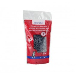 Biscuits mini au charbon actif 300gr